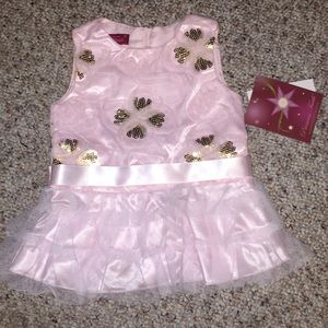 Baby Girl Pink Occasion Dress NWT Size 12 Months